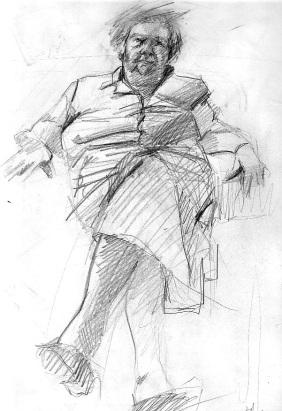 Grandmother Maruja.